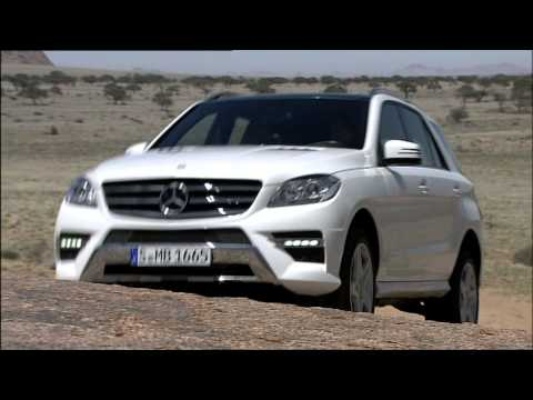 2012 Mercedes Benz ML250 4MATIC BlueTEC Driving