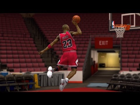 NBA 2k14 Dunking Tutorial - How To Do The Jordan Free Throw Line