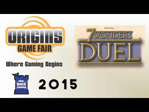 Origins Summer Preview: 7 Wonders: Duel