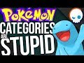 The Pokemon Category CHALLENGE! | Gnoggin - Stupid Pokemon Categories