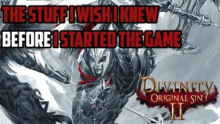Divinity Original Sin 2: 15 Tips and Tricks I Wish I Knew Before I Started Playing