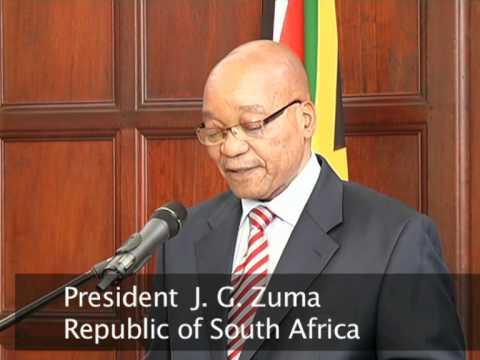 President Zuma receives ambassadors & high commissioners to SA