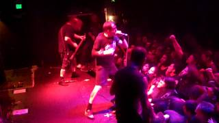 NAPALM DEATH Plague Rages Live at The Oakland Metro Oakland CA 2/20/2015