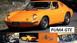 Garagem do Bellote TV: Puma GTE (1974)
