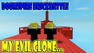 Doomspire Brickbattle: Playing with my EVIL CLONE!!!