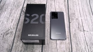 Samsung Galaxy S20 Ultra 5G - Unboxing and First Impressions