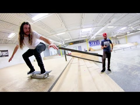 Skate Stairs WITHOUT HAVING TO OLLIE!? / Warehouse Wednesday