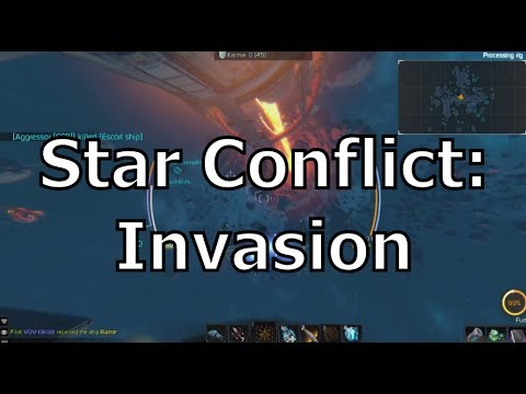 Star Conflict - Invasion - Open World Gameplay