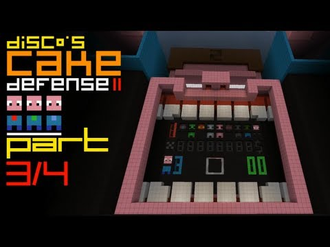 Minecraft Cake Defense II feat. Etho and Dinnerbone - Part 3 of 4