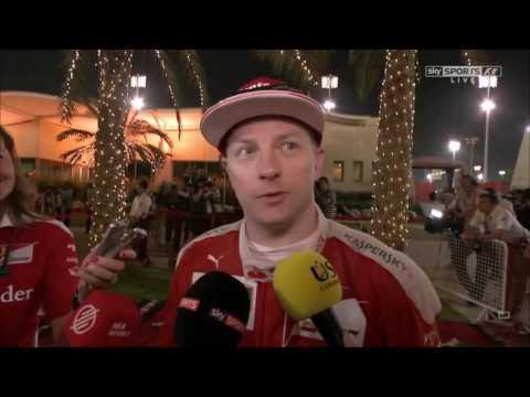 2016 Bahrain Post Race: Kimi Raikkonen