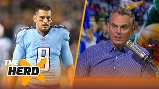 Colin Cowherd on Mariota after loss to Steelers, Goff and Keenum going into Week 11 | THE HERD
