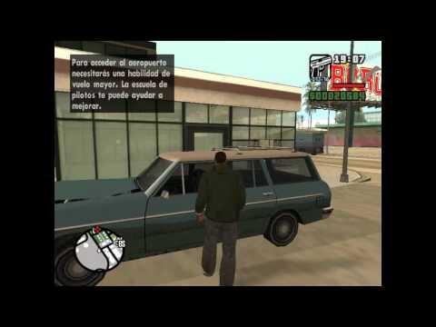 GTA San Andreas como llegar a San Fierro.