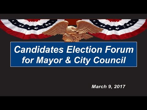 view Election Forum - Mayor & Council video
