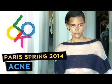 Acne: Paris Fashion Week Spring 2014