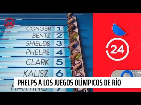 Phelps se clasifica a los Juegos Olímpicos de Río