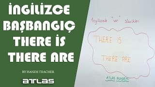 ingilizce başlangıç there is there are