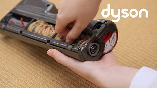 Dyson DC24 - Resetting the brush bar (AU)