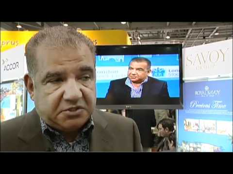 Emad Aziz, Chairman, Savoy Sharm El Sheikh, Egypt @ WTM 2010