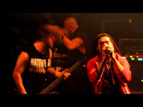 "Nonpoint  "" Broken Bones""  @ the Luna Lounge- Appleton Wisconsin 11-15-12!"