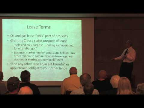 Oil & Gas Mineral Rights Leases - Tips for Owners Before Signing a Lease