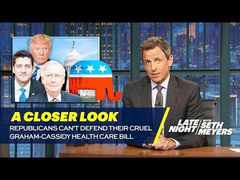 Republicans Can't Defend Their Cruel Graham-Cassidy Health Care Bill: A Closer Look