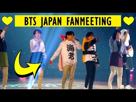BTS Japan Fanmeeting 2018 D2 - [Best Of Me, Go Go, Bapsae, Spring Day]