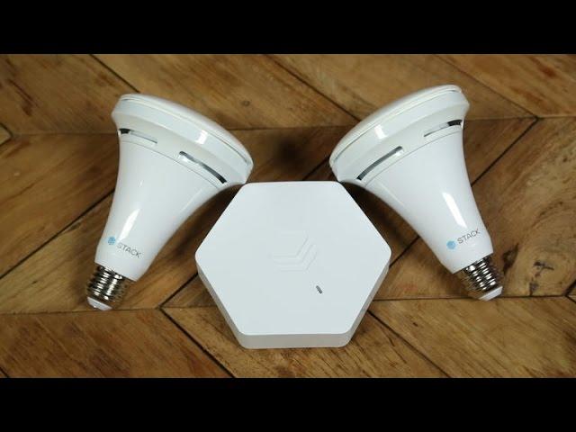 Stack's sensor-enabled smart bulbs left us impressed