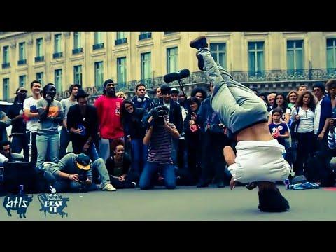 شاهد رقص Break dance على موسيقى الشعبي المغربي في ساحة إيطاليا مبهر thumbnail