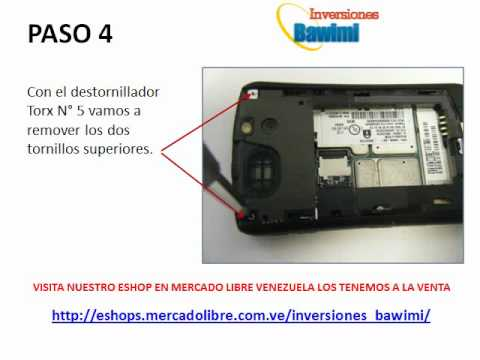 Desarme Blackberry Curve  8300 / 8310 / 8320 / 8330