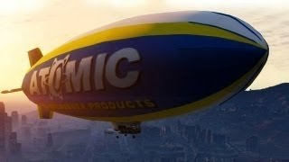 Grand Theft Auto 5:Tutorial Atomic Blimp - Como Conseguir o Dirigivel (PS3/XBOX 360)
