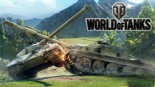 World of Tanks Крутые Танковые БОИ и СРАЖЕНИЯ Мульт Игра для детей WOT