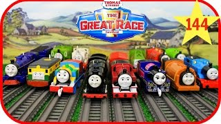 Thomas and Friends The Great Race # 144 TrackMaster Neville Thomas & Friends toys trains for Kids