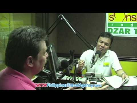 Sonshine Radio Show Interview - In The Media - WOW Philippines Travel Agency