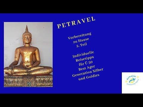 Individuelles Reisen für Ü 50, Vorbereitung zu hause, Teil 2