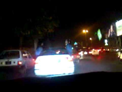 Defence Lahore Girls Rock In Car Part 1 video