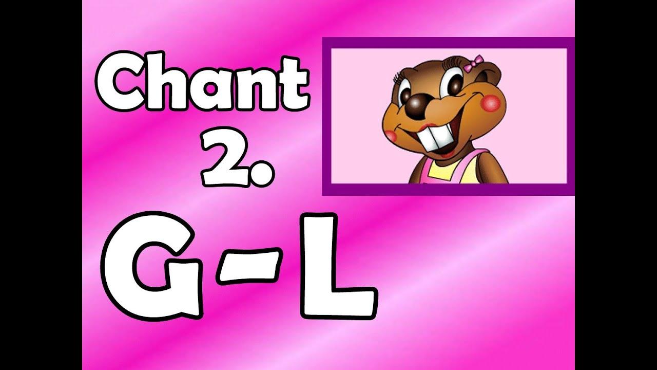 alphabet chant 2  g to l