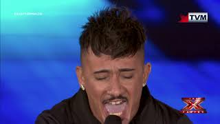 X Factor Malta - The Chair Challenge - Franklin Calleja