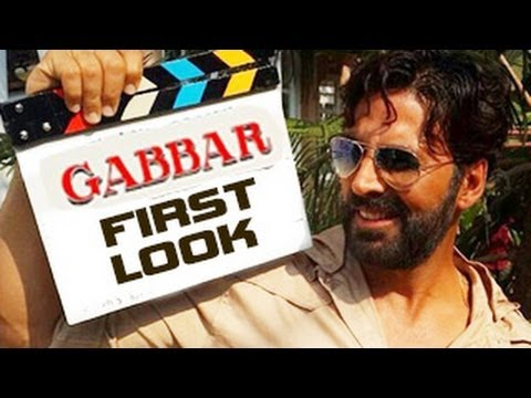 Akshay Kumar's Gabbar FIRST LOOK