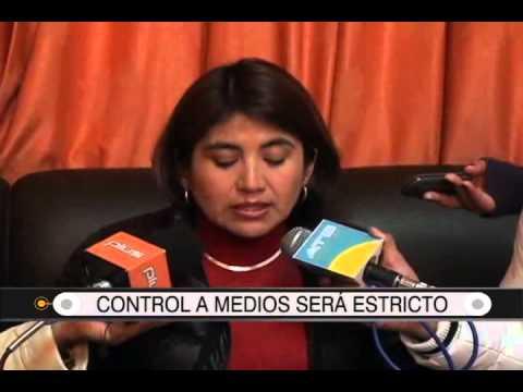27/08/2014-13:01 TED: CONTROL A MEDIOS SERÁ ESTRICTO