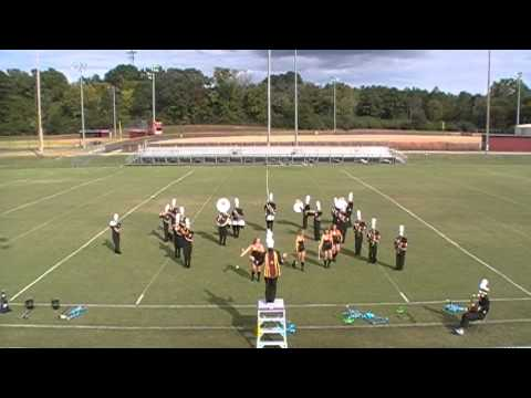 SHOALS CHRISTIAN SCHOOL MARCHING BAND - 9-26-2014