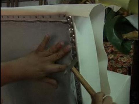 C mo tapizar un sof youtube - Telas tapizar sofas ...