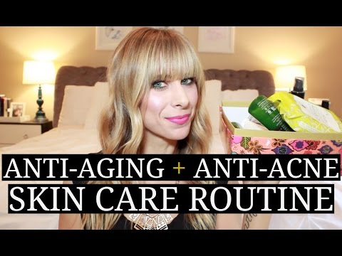 My All Natural Skin Care Routine   Anti-Aging + Anti-Acne!   Summer Saldana