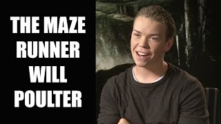The Maze Runner Interview - Will Poulter