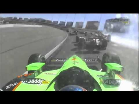 IndyCar 2011 - Las Vegas Big Crash