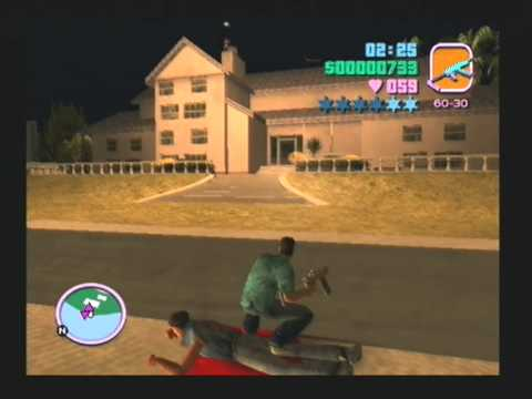 Grand Theft Auto Vice City PS2 Gameplay  (www.chilloutgames.co.uk)