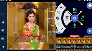 How to create your girlfriend birthday wishes WhatsApp status video! Edit with kinemaster Telugu
