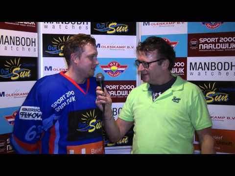 Interview na afloop wedstrijd Hijs Hokij Den Haag vs Tilburg Trappers