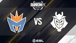 Rainbow Six Pro League - Season 9 - EU - Mockit Esports vs. G2 Esports - Week 1