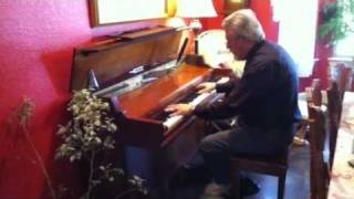 My Piano Tuner playing Phantom of the Opera song :)