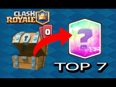 TOP 7 LEGENDARY CARDS IN FREE CHESTS!!! | CLASH ROYALE | ByViruzz,TheWillyrex,Staxx